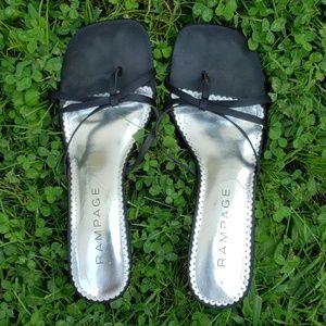 Rampage Black High Heels